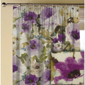 Prestigious Textiles Iona Lucido Orchid Made to Measure Curtains