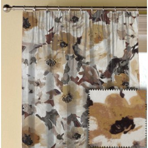 Prestigious Textiles Iona Lucido Umber Made to Measure Curtains