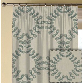 Clarke and Clarke Richmond Malham Duckegg Made to Measure Curtains