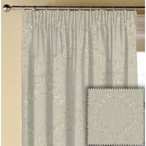 Clarke and Clarke Richmond Malham Linen Made to Measure Curtains