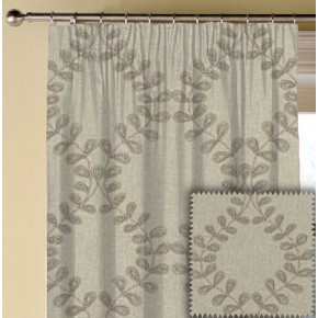 Clarke and Clarke Richmond Malham Natural Made to Measure Curtains