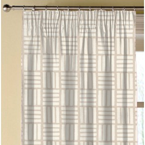Clarke and Clarke Astrid Malva Natural Made to Measure Curtains