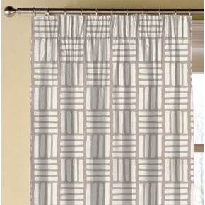 Clarke and Clarke Astrid Malva Taupe Made to Measure Curtains