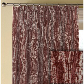 Prestigious Clarke Cosmopolitan Marble Redwood Made to Measure Curtains