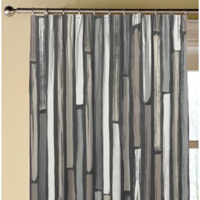 Clarke and Clarke Folia Marcelle Charcoal Made to Measure Curtains