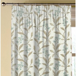 Clarke and Clarke Halcyon Melrose Duckegg Made to Measure Curtains