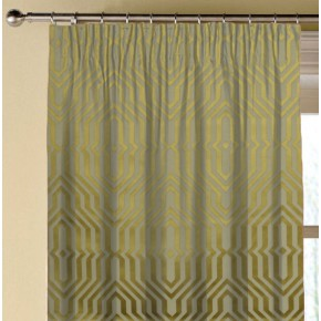 Prestigious Textiles Focus Mercury Citron Made to Measure Curtains