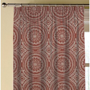 Prestigious Textiles Provence Montpellier Paprika Made to Measure Curtains