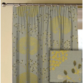 Prestigious Textiles Eden Moonseed Chartreuse Made to Measure Curtains