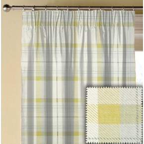 Prestigious Textiles Charterhouse Munro Chartreuse Made to Measure Curtains
