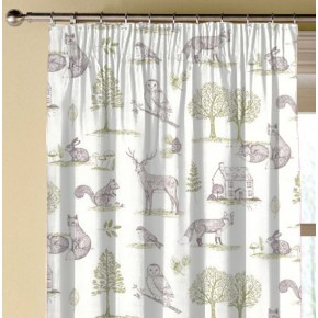Clarke and Clarke Blighty Newforest Natural Made to Measure Curtains