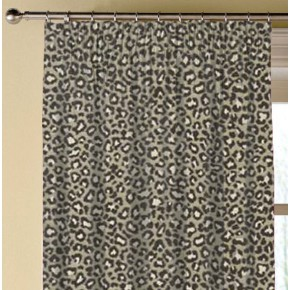 Clarke and Clarke Chateau Ocelot Noir Made to Measure Curtains