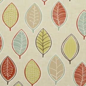 Clarke and Clarke Cariba Coco Spice Curtain Fabric