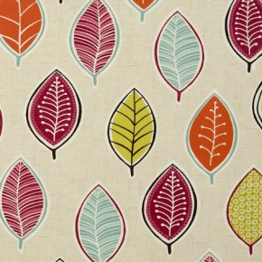 Clarke and Clarke Cariba Coco Summer Curtain Fabric