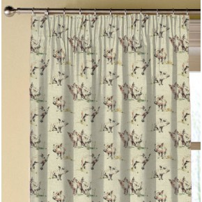 Clarke and Clarke Countryside Oink Linen Made to Measure Curtains