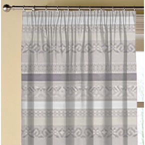 Clarke and Clarke Oslo Ommel Natural Made to Measure Curtains