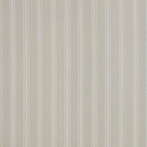 Clarke and Clarke Ticking Stripes Coniston Natural Curtain Fabric