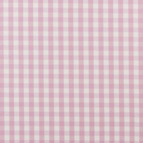 Clarke and Clarke Ticking Stripes Coniston Pink Curtain Fabric