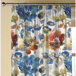 A Prestigious Textiles Decadence Opium Sapphire Made to Measure Curtains