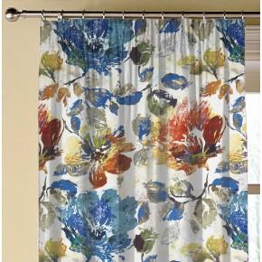 A Prestigious Textiles Decadence Opium Sapphire Made to Measure Curtains