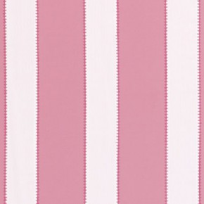 Clarke and Clarke Storybook Corduroy Stripe Pink Curtain Fabric