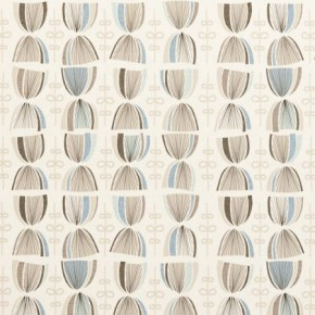 Clarke and Clarke Festival Cosmos Mineral Curtain Fabric