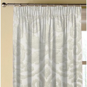 Clarke and Clarke Imperiale Otranto Ivory Made to Measure Curtains