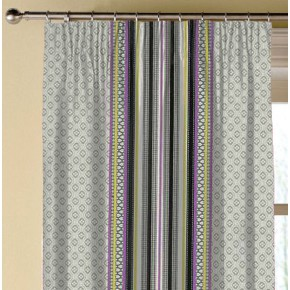 Clarke and Clarke Chateau Paradiso Acacia/Violet Made to Measure Curtains