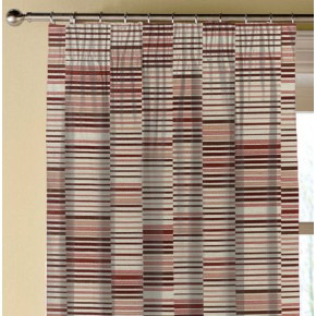 Prestigious Textiles Atrium Parquet Auburn Made to Measure Curtains
