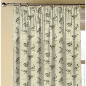 Clarke and Clarke Countryside Partridge Linen Made to Measure Curtains