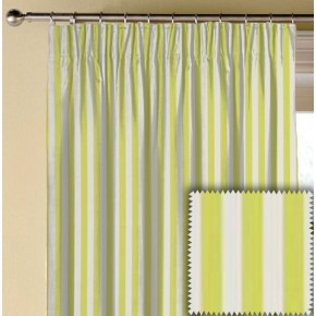 Clarke and Clarke Garden Party Party Stripe Citrus Made to Measure Curtains