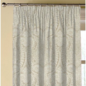 Clarke and Clarke Halcyon Pastiche Mist Made to Measure Curtains