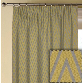 Prestigious Textiles Metro Peak Citron Made to Measure Curtains