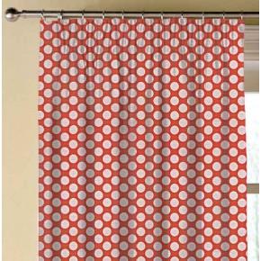 Prestigious Textiles Annika Pia Papaya Made to Measure Curtains