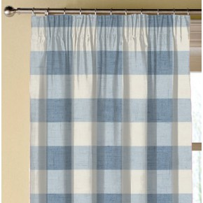Clarke and Clarke Genevieve Polly Chambray Made to Measure Curtains