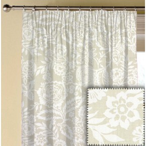 Clarke and Clarke Genevieve Polly Linen Made to Measure Curtains
