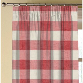 Clarke and Clarke Genevieve Polly OldRose Made to Measure Curtains