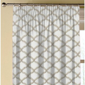 Clarke and Clarke Imperiale Reggio Ivory Made to Measure Curtains