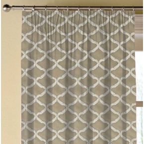 Clarke and Clarke Imperiale Reggio Linen Made to Measure Curtains