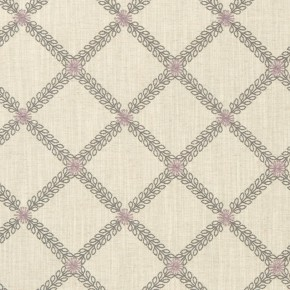 Clarke and Clarke Bloomsbury Cressida Heather/slate  Made to Measure Curtains