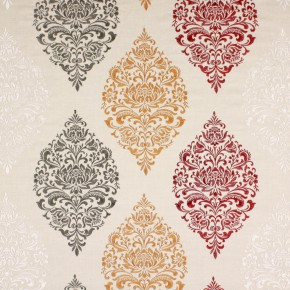 Opera Cressida Pomegranate Curtain Fabric