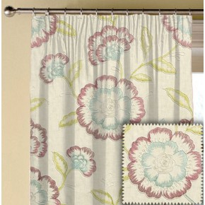 Clarke and Clarke Richmond Richmond RaspberryDuckegg Made to Measure Curtains