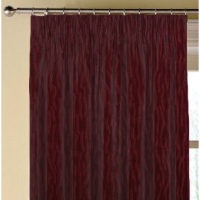 Prestigious Textiles Atrium Ripple Cardinal Made to Measure Curtains