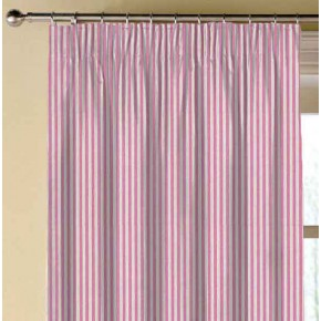 Clarke and Clarke Glenmore Rowan Fuchsia Made to Measure Curtains