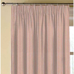 Clarke and Clarke Glenmore Rowan Spice Made to Measure Curtains