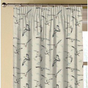 Clarke and Clarke Countryside Seagulls Linen Made to Measure Curtains