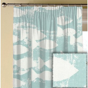 Prestigious Textiles Pickle Shoal Azure Made to Measure Curtains