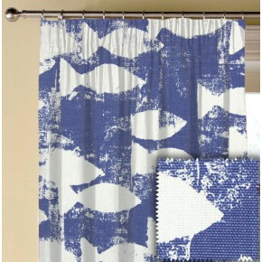 Prestigious Textiles Pickle Shoal Indigo Made to Measure Curtains