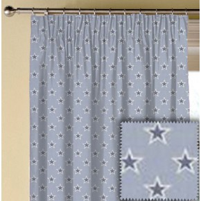 Clarke and Clarke Garden Party Shooting Stars Chambray Made to Measure Curtains