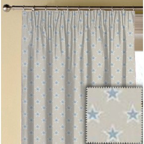 Clarke and Clarke Garden Party Shooting Stars Mineral Made to Measure Curtains